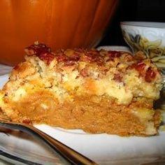 Upside Down Pumpkin Cake - Allrecipes.com