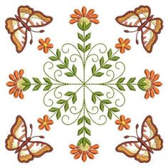 Stunning on quilts, pillows and so many other projects. Includes and sizes. Custom Embroidery, Embroidery Thread, Machine Embroidery Designs, Embroidery Patterns, Real Flowers, Quilt Blocks, Free Design, Rooster, Insects