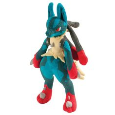 Pokemon 10-Inch Mega Lucario Plush Toy (Large): Amazon.co.uk: Toys & Games