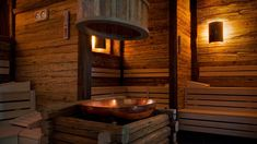 Nice sauna stop. Best way to relax and sweat out the toxins.