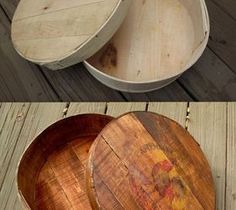 DIY Pallet ideas for Home: How to Make a New Cheese Box Look Old
