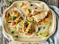 Fish tacos are very popular Mexican fare – and for good reason. Crispy battered fish, zingy avocado salsa and heat from a top-quality chilli sauce; the texture and flavour combinations are unbeatable. Photograph by Jani Shepherd.