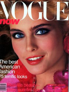 Kim Alexis Vogue 1980