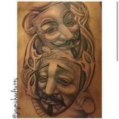 Laugh now cry later done by Jay Arlington Ink