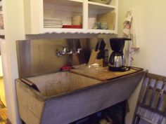 Old Concrete Laundry Sink We Used To Have One Like This