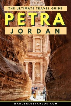 Top Tips For Visiting Petra, Jordan. When planning a trip to Petra, there are a lot of questions. What to wear, what to see, how to get there and how much it costs? Find out all the answers in this ultimate travel guide to Petra. #petra #jordan #history #historicarchitecture #architecture #beauty #magnificent #lostcity #rosestone #treasury