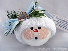 Snowman Ornaments Handmade | snowman ornaments handmade - Bing Images
