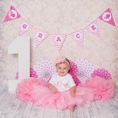 My sweet customer Lauren used a printable pink whale banner for her daughter's first birthday photoshoot and it couldn't have turned out better! What a cutie pie! Happy birthday little one. Birthday Cake Girls Teenager, Happy Birthday Girls, First Birthday Banners, Elmo Birthday, First Birthday Photos, Happy 1st Birthdays, Baby First Birthday, Birthday Pictures, Cake Smash Outfit Girl