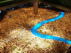 Wow! Model of Shanghai 2020 at Shanghai Urban Planning Exhibition Hall