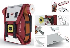 Rescue team should have Mountain Rescue Splint Pack when they have to evacuate a victim from mountainous areas.