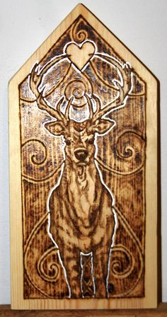 WIP Hart Pyrography by BumbleBeeFairy on DeviantArt