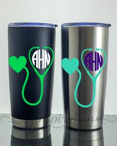 A personal favorite from my Etsy shop https://www.etsy.com/listing/489938253/nurse-gift-doctor-gift-travel-coffee-mug