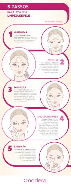 5 passos para fazer uma boa limpeza de pele em casa