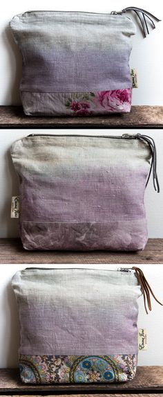 Naturally dyed with blueberries- Emma June Designs- www.emmajunedesigns.co.uk Blueberries, Home Decor Accessories, Lilac, Purses And Bags, June, House Design, Colours, Blueberry, Lilac Bushes
