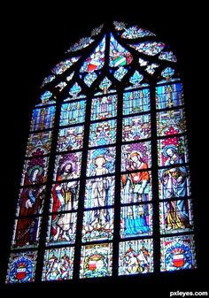 Image detail for -Gothic cathedral window picture for: gothic architecture photography . Gothic Cathedral, Cathedral Windows, Church Windows, Gothic Revival Architecture, Art And Architecture, Flamboyant, Gothic Windows, Stained Glass Church, Gothic Buildings