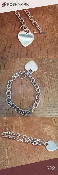 Bracelet Sterling silver solid 925 Bracelet Sterling silver solid 925 .... 18g 🌺 Jewelry Bracelets