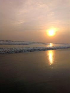 sunset parangtritis yogyakarta