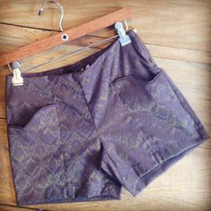 Shorts barroco no inverno! My Must Have! Mamô.