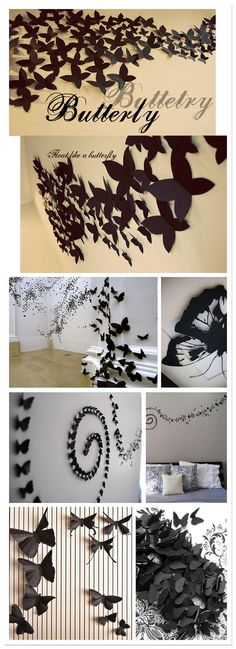 decorando con mariposas