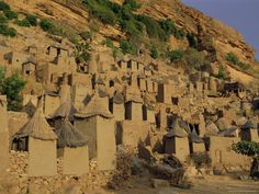 The dogons in Bandiagara One Day I Will, Framed Artwork, Find Art, Mount Rushmore, Africa, Mountains, Painting, Travel, Workshop