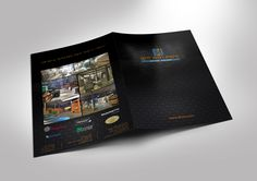Design folder for a importing parquet company