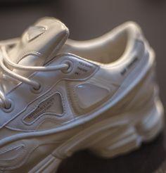 Details : Raf Simons x Adidas Osweego Bunny in White. Pre-orders : info@urban-oxygen.com