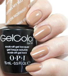 opi gelcolor fallwinter 2014 nordic collection going my way or norway - Nuancier Gel Color Opi