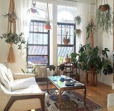small space decor tips from this gorgeous boho apartment forever