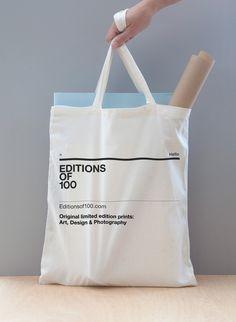 Editions of 100 by bergstudio , via Behance