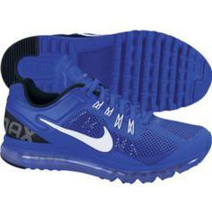 Nike Men's Air Max+ 2013 Running Shoe - Blue/White | DICK'S Sporting Goods