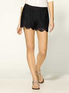 Free People - Lace Shorts