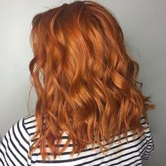 Fiery copper hair!!  Color by @sydnimamas using #PRAVANA ChromaSilk! #pravansg #pravanasingapore #chromasilk #copperhair #hairgoals #color #instahair #instahairdo #hairstyle #haircolor #curls #waves #vivid #magical #copper