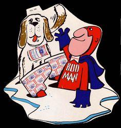 Budweiser Bud Man sticker                                                    .(Marc & Hunter) lol  :-)