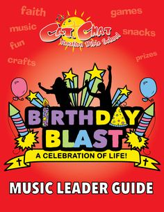 The Music Leader Guide for Birthday Blast Catholic VBS features guitar chords and lyrics for all of the VBS songs. The piano sheet music is available with the program as well. Piano Sheet, Sheet Music, Guitar Chords And Lyrics, Catholic Doctrine, Birthday Blast, Action Songs, Vacation Bible School, Good Music, Bible Verses