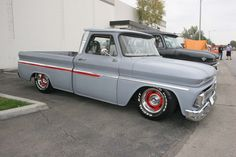 66 Chevy Truck | The 1960-66 Chevy trucks are gaining in popularity, and this one ...