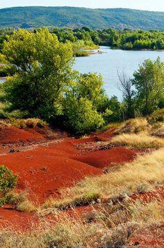 Ruffe sur Salagou - Lac du Salagou, Hérault, France