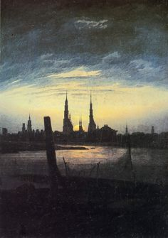 MENTAL IMAGE: Caspar David Friedrich