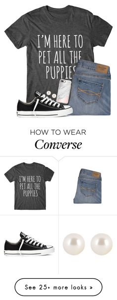 """300 followers"" by jojo2056 on Polyvore featuring Abercrombie & Fitch, Converse, Henri Bendel and Casetify"