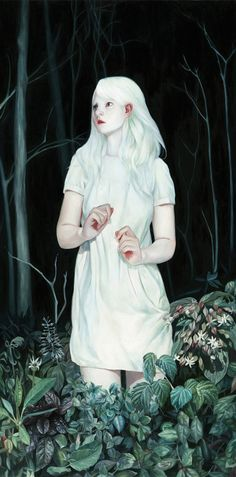 'White Forest' by Joanne Nam   Hi-Fructose Magazine