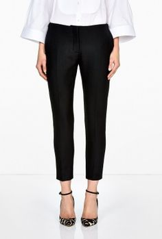 Cig D Wool Trousers by Acne