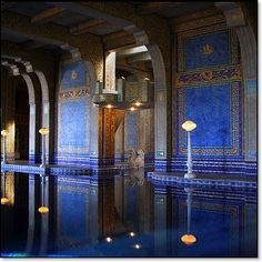 Hearst Castle Roman pool