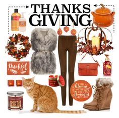 #Thanksgiving contest entry - summerocha.Polyvore featuring #YankeeCandle