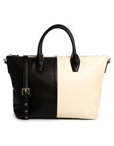 Image 1 ofASOS Zip Top Handheld Bag
