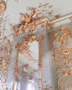 aesthetic Get inspired by gold decorations for your design projects, for more inspiration take a loo Baroque Architecture, Beautiful Architecture, Architecture Awards, Interior Architecture, Picture Wall, Photo Wall, Angel Aesthetic, Rose Gold Aesthetic, Aesthetic Black