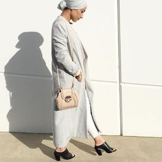 Simply Covered | hijabista mipster total look in grey colour