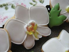 Orchid cookie | Flickr: Intercambio de fotos