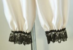 Vanilla Matte Satin Bloomers / Pantaloons with by MissPussinBoots