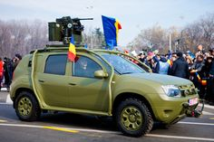 Bulletproof Dacia Duster Army Vehicle Is a Budget Humvee-Wannabe - Carscoops Army Vehicles, Armored Vehicles, Bus Engine, Dacia Duster, Off Road Adventure, Battle Tank, Car Wallpapers, Dusters, Armed Forces