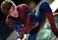 The Amazing Spiderman - Andrew Garfield...mhmm ;)