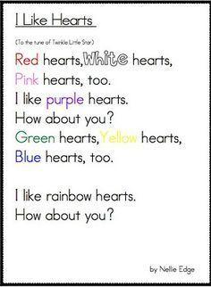 valentine poems for kindergarten  Google Search